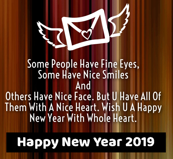 happy new year 2019 love saying image