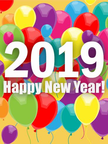 Celebration New Year 2018