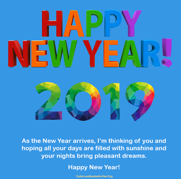 new year 2019 quotes wishes