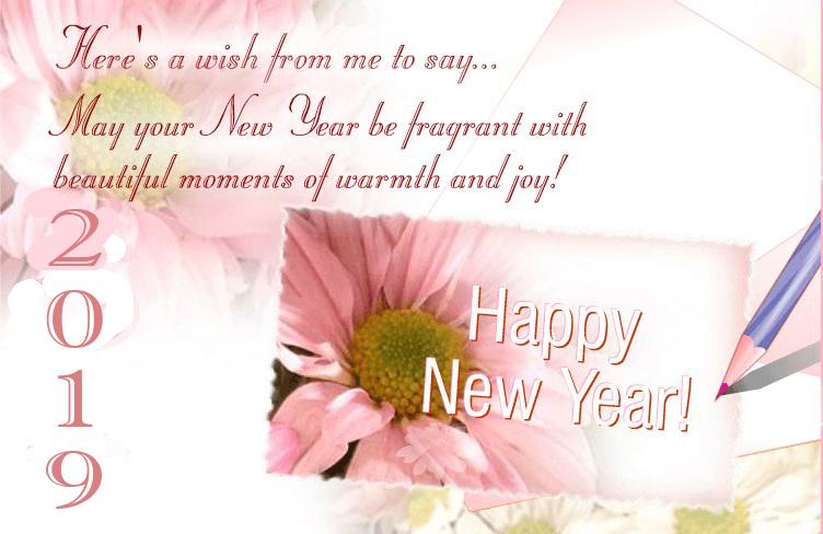 new year wishing greetings 2019
