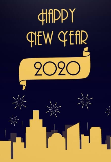 Unique Happy New Year Greeting eCards 2021 to Send Online ...