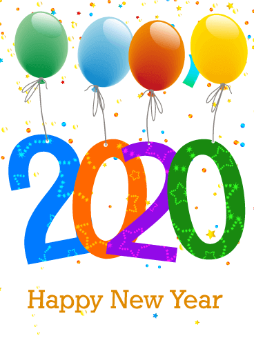 Latest New Year 2020 Wallpapers and Images for iPhone X and iPad