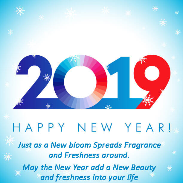2019 happy new year best wishes