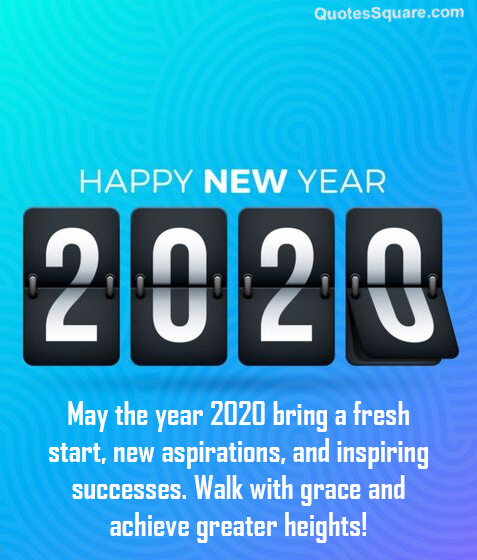 Top 20 Happy New Years Eve Quotes 2020