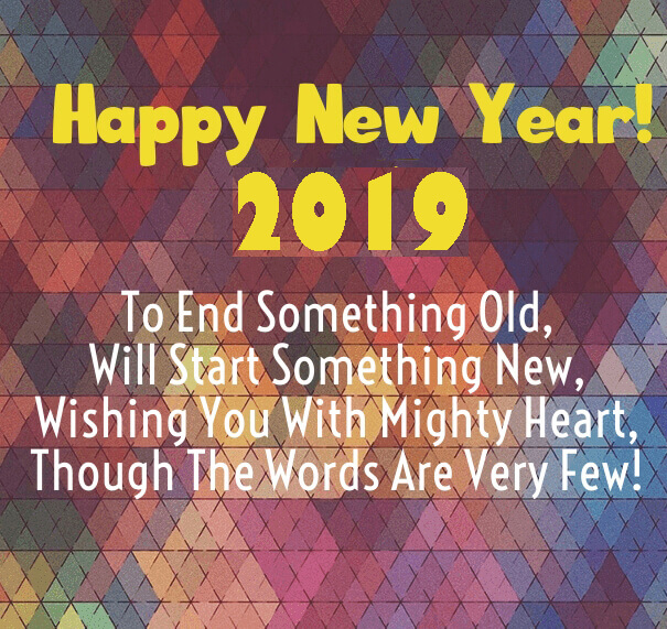 50 Happy New Year 2019 Status Images For Instagram Happy New Year