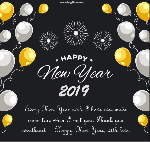 love quotes new year 2019 for her him