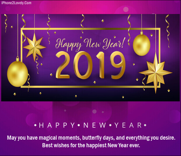 new year 2019 love quote to romance image