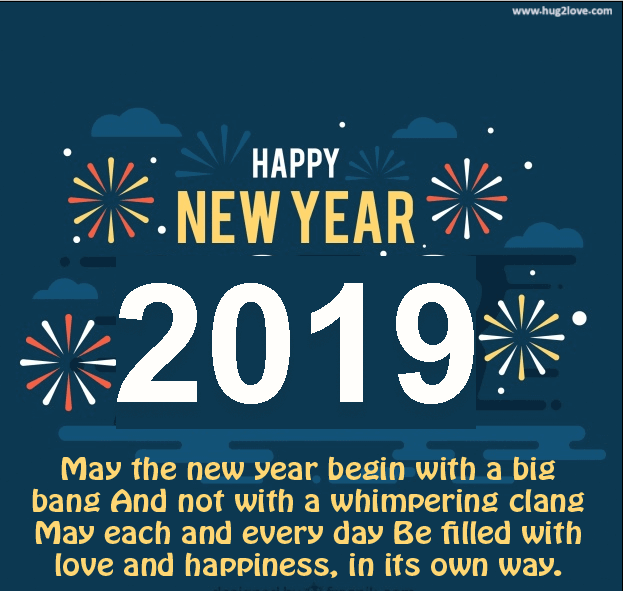 welcome new year 2019 wishes quote