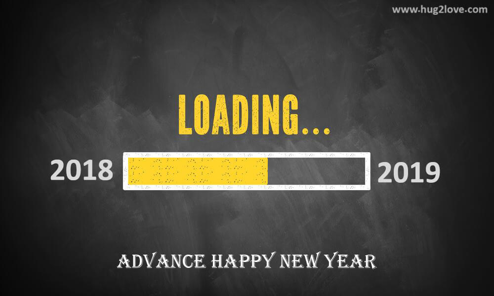 advance happy new year 2019 wallpaper hd