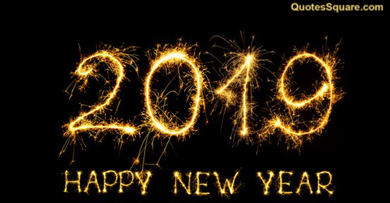 wishes new year 2019 desktop mobile wallpaper banner