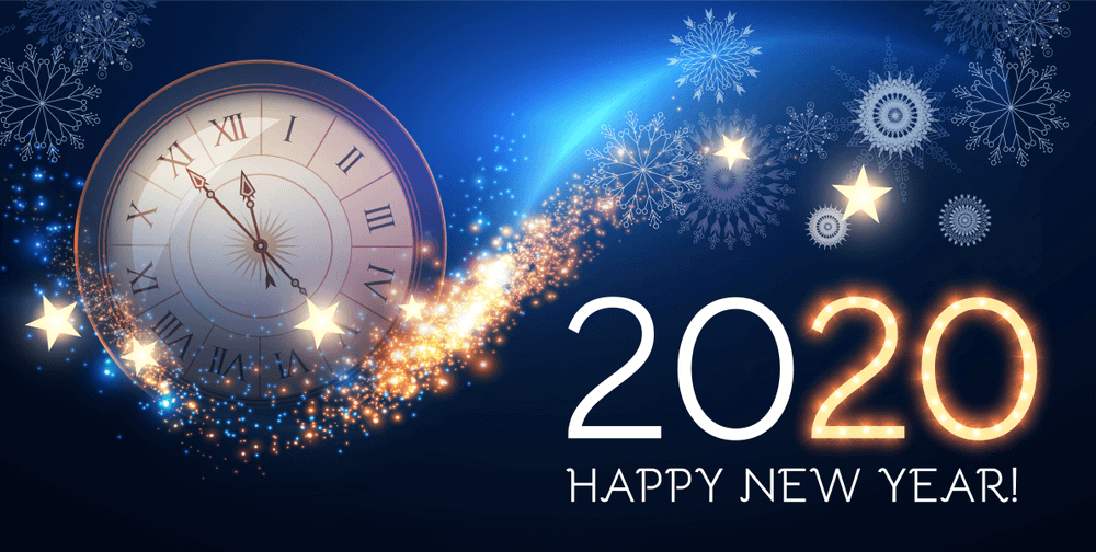 Happy 2020 New YEar Wallpaper Image - Happy New Year 2020 Quotes