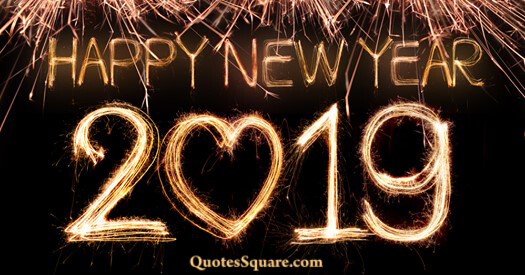 new year love sparkling 2019 background image