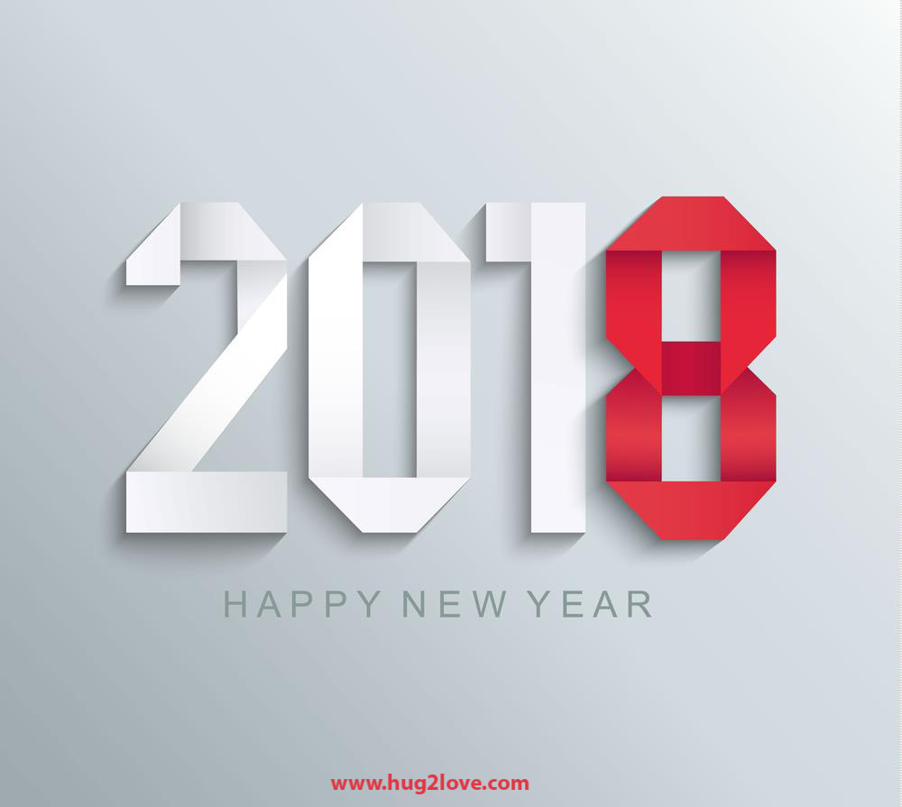 Design Happy New Year 3D Wallpaper  Wallpapers Land
