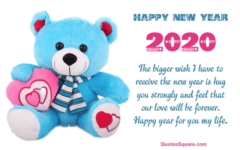 35 Best Happy New Year 2020 Teddy Bear Pictures with Quotes ...