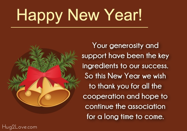 clients new year wishes quotes
